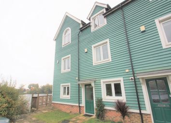 Thumbnail 3 bed town house to rent in The Lakes, Aylesford, Kent