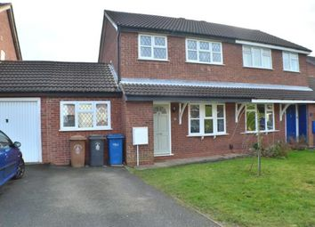 Thumbnail 3 bed semi-detached house for sale in Wolsey Road, Lichfield