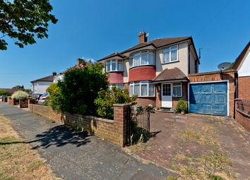 Thumbnail 3 bed semi-detached house for sale in Amis Avenue, West Ewell
