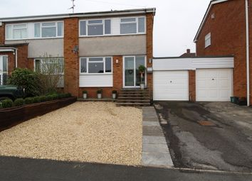 Thumbnail 3 bed semi-detached house for sale in Honeymead, Whitchurch, Bristol