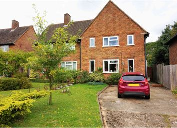 Thumbnail 3 bed semi-detached house for sale in The Queens Drive, Rickmansworth