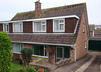 Thumbnail 3 bed semi-detached house to rent in Underidge Close, Paignton