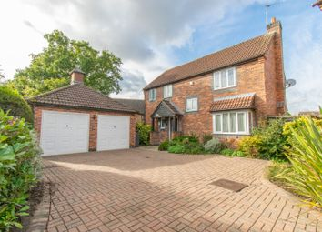 Thumbnail 4 bed detached house for sale in Sorrel Road, Leicester