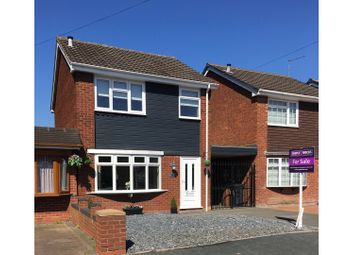 Thumbnail 3 bedroom link-detached house for sale in Greenhill Close, Willenhall