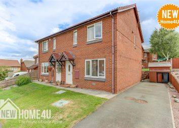 Thumbnail 3 bed semi-detached house for sale in Kestrel Close, Connah's Quay, Deeside