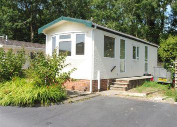 Thumbnail 1 bed mobile/park home for sale in Ashley Wood, Tarrant Keyneston, Blandford Forum