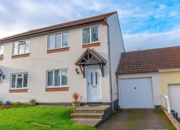 Thumbnail 3 bed semi-detached house for sale in Walnut Close, Puriton, Somerset