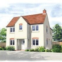 Thumbnail 4 bedroom detached house for sale in Moor Lane, Branston