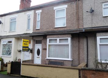 Thumbnail 3 bed terraced house for sale in Empress Road, Wrexham