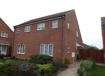Thumbnail 1 bed semi-detached house for sale in Southwell Drive, Skegness