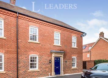 Thumbnail 4 bed semi-detached house to rent in Wayland Road, Biddenham, Bedford