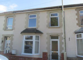 Thumbnail 4 bedroom terraced house for sale in Bargoed Terrace, Treharris