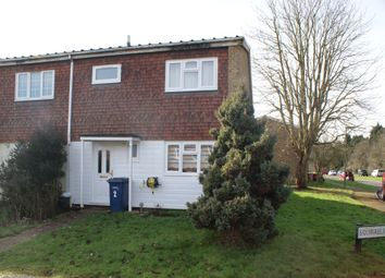 Thumbnail 3 bedroom end terrace house for sale in Squirrels Close, Godalming