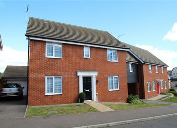 Thumbnail 4 bedroom detached house for sale in Peregrine Drive, Stowmarket, Suffolk