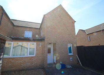 Thumbnail 3 bed terraced house to rent in Perran Avenue, Fishermead, Milton Keynes