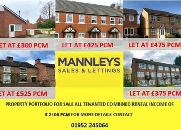 Thumbnail 7 bed detached house for sale in Market Street, Wellington, Telford