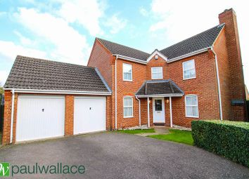 Thumbnail 4 bedroom detached house for sale in Wells Close, Cheshunt, Waltham Cross