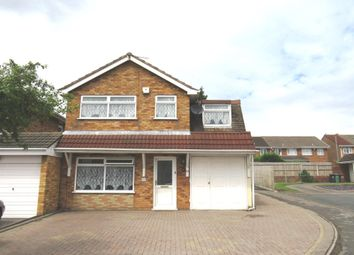 Thumbnail 4 bed detached house for sale in Dursley Close, Willenhall