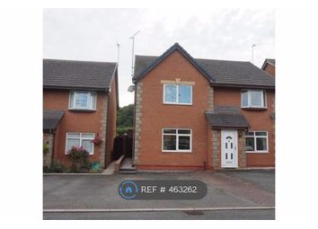 Thumbnail 2 bed semi-detached house to rent in Campbell Close, Llandudno