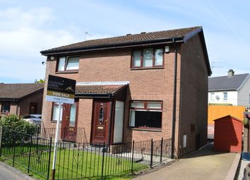 Thumbnail 2 bed semi-detached house for sale in Oxhill Place, Dumbarton
