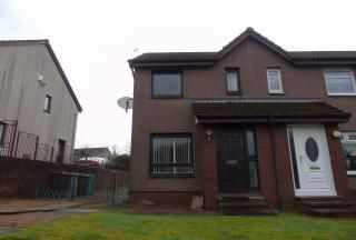Thumbnail 1 bed semi-detached house for sale in Springholm Drive, The Rushes, Airdrie, North Lanarkshire