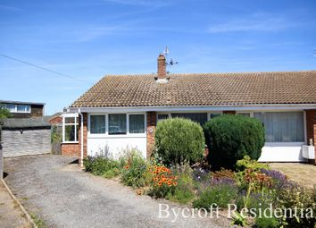 Thumbnail 2 bed semi-detached bungalow for sale in Seafield Road South, Caister-On-Sea, Great Yarmouth