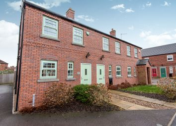 Thumbnail 3 bedroom end terrace house for sale in Elizabethan Gardens, Retford