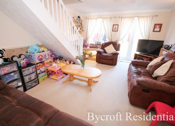 Thumbnail 2 bed terraced house for sale in Wright Close, Caister-On-Sea, Great Yarmouth