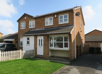 Thumbnail 3 bed semi-detached house for sale in Poppleton Way, Tingley, Wakefield