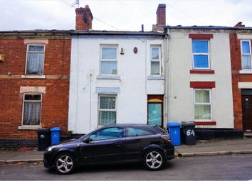 Thumbnail 2 bed terraced house for sale in Gordon Road, Derby