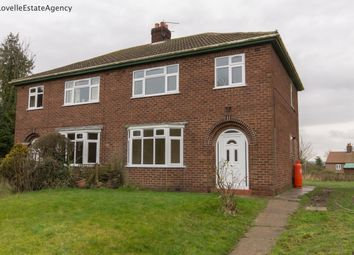 Thumbnail 3 bed semi-detached house to rent in Whitton, Scunthorpe