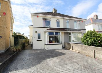 Thumbnail 5 bedroom semi-detached house for sale in Plaistow Crescent, Plymouth