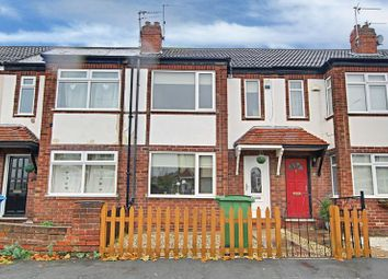 Thumbnail 2 bed terraced house for sale in Aston Road, Willerby, Hull