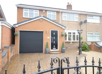 Thumbnail 4 bed semi-detached house for sale in Bean Avenue, Worksop