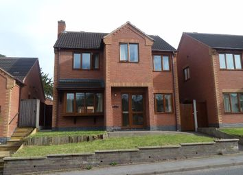 Thumbnail 4 bed detached house to rent in Church Hill, Wolvey
