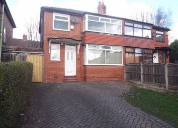 Thumbnail 3 bed semi-detached house to rent in Malvern Close, Prestwich, Manchester