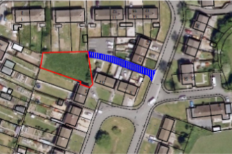 Thumbnail Land for sale in Coed Cae, Llandybie, Ammanford