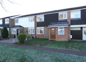 Thumbnail 3 bed terraced house for sale in Bamburgh Drive, Bedford