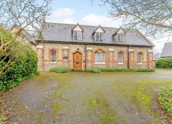 Thumbnail 5 bed detached house for sale in The Old School & School House, Church Street, Alwalton, Peterborough