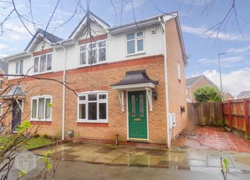 Thumbnail 3 bedroom semi-detached house for sale in Swanfield Walk, Golborne, Warrington, Lancashire