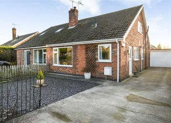 Thumbnail 3 bed semi-detached house for sale in Cherry Wood Crescent, Fulford, York