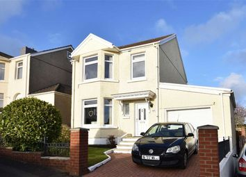 Thumbnail 4 bedroom detached house for sale in Lon Masarn, Sketty, Swansea