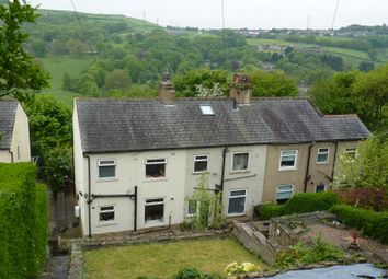 Thumbnail 3 bed end terrace house for sale in Park View Avenue, Northowram, Halifax