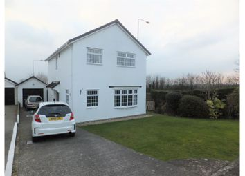 Thumbnail 4 bed detached house for sale in Brenig Close, Cwm Talwg, Barry