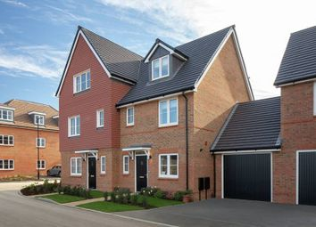 "3 bed terraced house for sale in ""The Henbury Phase 2B - Semi"" at Roundstone Lane, Angmering, Littlehampton BN16"
