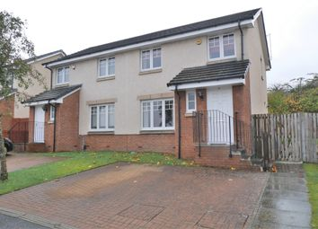 Thumbnail 3 bed semi-detached house for sale in Divernia Way, Barrhead