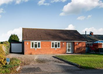 Thumbnail 4 bed detached bungalow for sale in North Green Road, Pulham St. Mary, Diss
