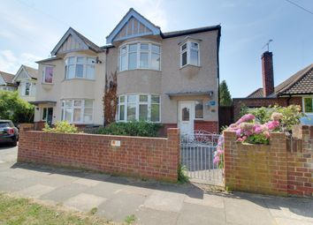 Thumbnail 3 bed semi-detached house to rent in Percy Road, Leigh-On-Sea