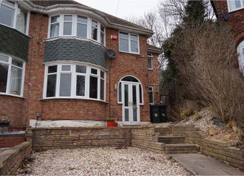 Thumbnail 4 bed semi-detached house for sale in Hollywood Croft, Great Barr, Birmingham