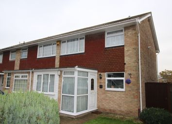 Thumbnail 3 bed terraced house for sale in Buttermere Close, Folkestone